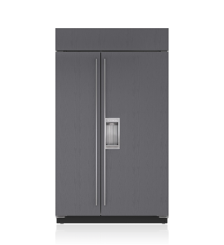 Sub-Zero 122 CM Built-In Side-by-Side Refrigerator/Freezer with Dispenser - Panel Ready ICBBI-48SD/O