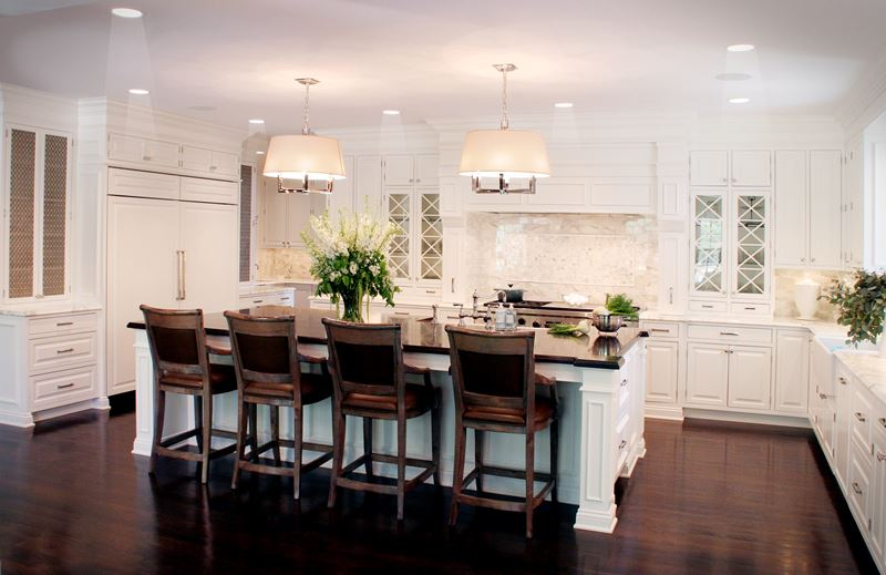 Kitchen Model Homes the classic white kitchen deconstructed | kitchen gallery |