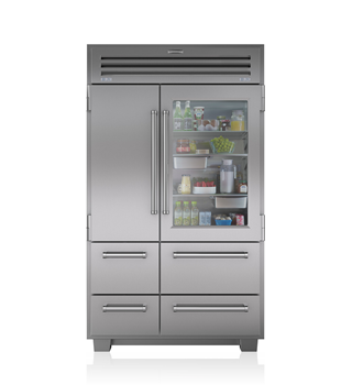 Sub-Zero PRO 48 with Glass Door ICB648PROG