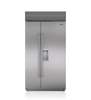 Sub-Zero 107 CM Classic Side-by-Side Refrigerator/Freezer with Dispenser ICBBI-42SD/S