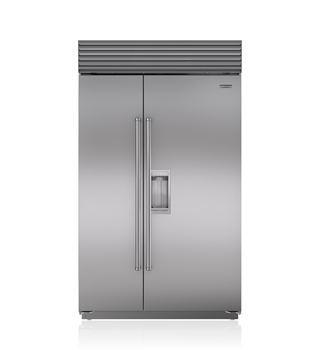Sub-Zero 122 CM Classic Side-by-Side Refrigerator/Freezer with Dispenser  ICBBI-48SD/S