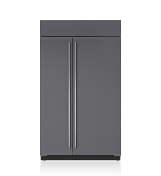 Sub-Zero 122 CM Classic Side-by-Side Refrigerator/Freezer with Internal Dispenser - Panel Ready ICBBI-48SID/O