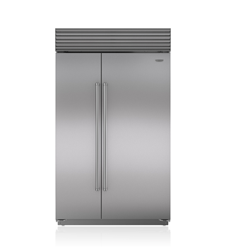 Sub-Zero 122 CM Classic Side-by-Side Refrigerator/Freezer with Internal Dispenser ICBBI-48SID/S