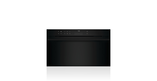 Wolf 76 cm E Series Contemporary Convection Steam Oven  ICBCSO30CM/B/TH Shown with optional Black Handle Accessory