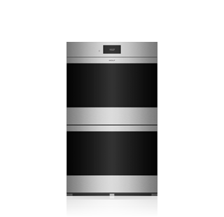 Wolf 76 cm M Series Contemporary Stainless Steel Built-In Double Oven ICBDO30CM/S