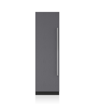 Sub-Zero 61 CM Designer Column Freezer with Ice Maker - Panel Ready ICBIC-24FI