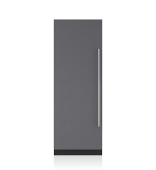 Sub-Zero 76 CM Designer Column Freezer with Ice Maker - Panel Ready ICBIC-30FI
