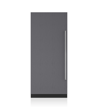 Sub-Zero 91 CM Designer Column Refrigerator with Internal Dispenser - Panel Ready ICBIC-36RID