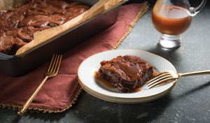 Salted Caramel Nutella® Brownies