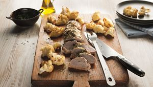 Pork Tenderloin And Roasted Cauliflower